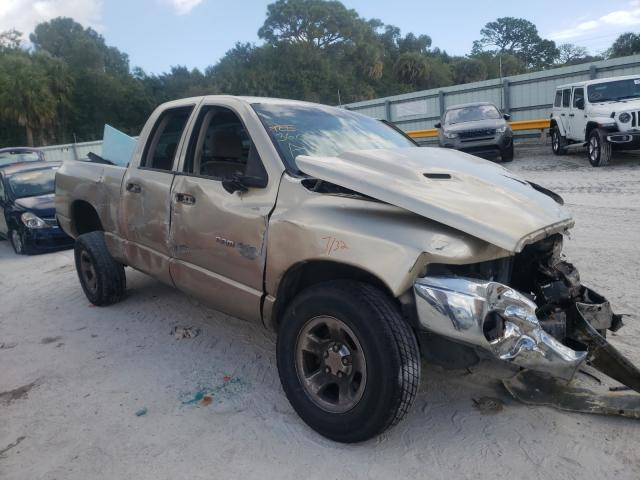 Salvage cars for sale from Copart Fort Pierce, FL: 2004 Dodge RAM 1500 S