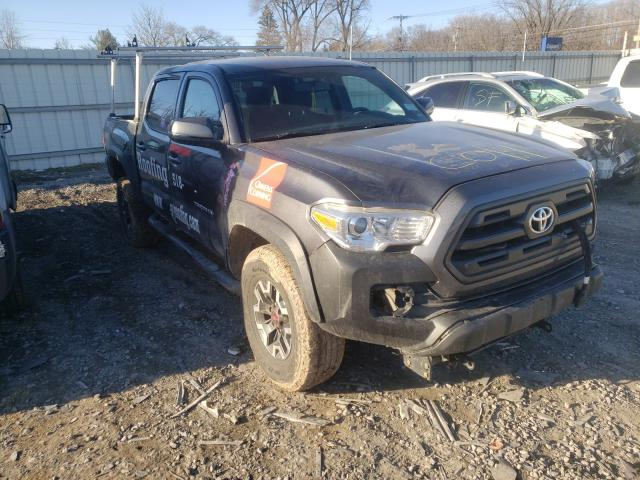 Salvage cars for sale from Copart Albany, NY: 2017 Toyota Tacoma DOU