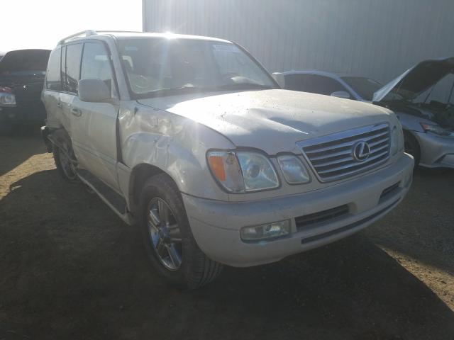 Salvage cars for sale from Copart Helena, MT: 2007 Lexus LX 470