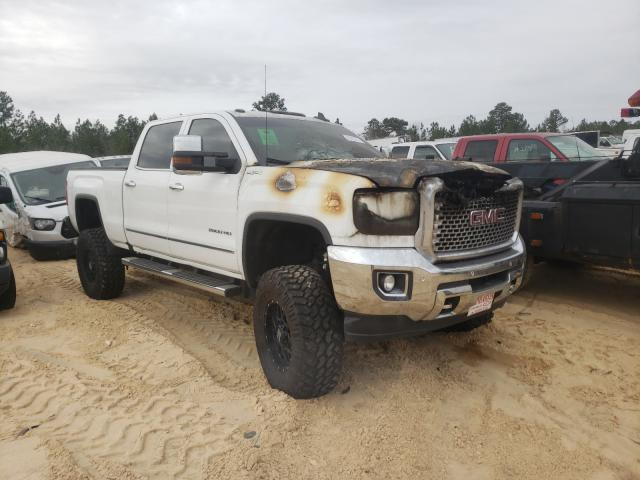 Salvage cars for sale from Copart Gaston, SC: 2016 GMC Sierra K25