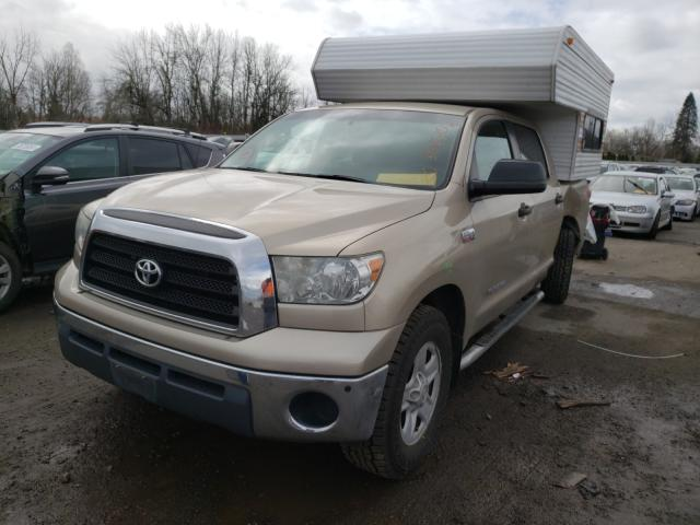 2007 TOYOTA TUNDRA CRE - Left Front View