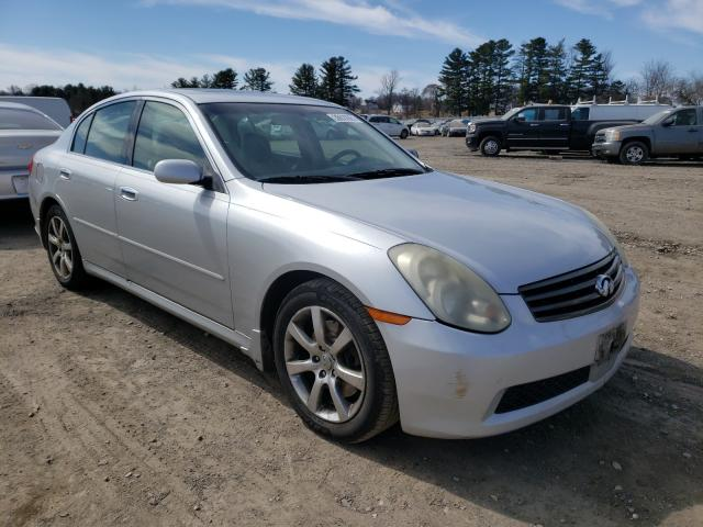 Salvage cars for sale from Copart Finksburg, MD: 2006 Infiniti G35