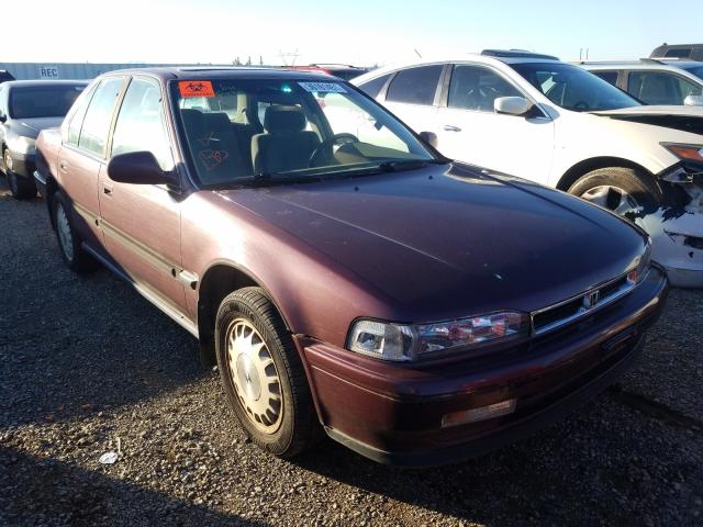 Salvage cars for sale from Copart Anderson, CA: 1991 Honda Accord EX