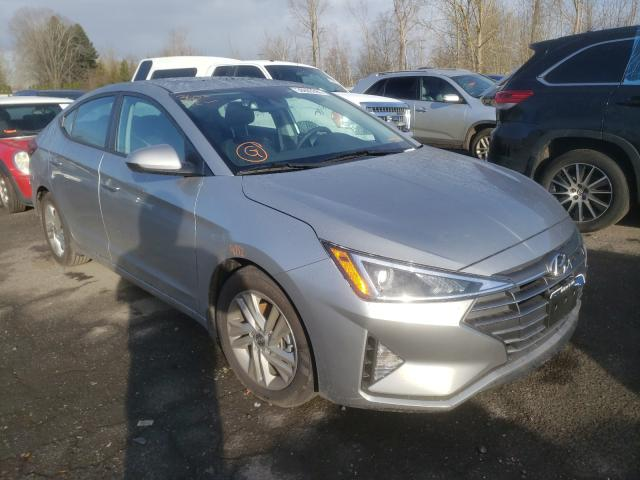 Salvage cars for sale from Copart Portland, OR: 2020 Hyundai Elantra SE