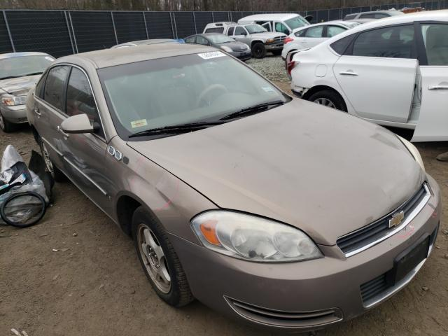 Salvage cars for sale from Copart Waldorf, MD: 2006 Chevrolet Impala LS