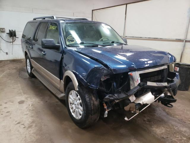 Salvage cars for sale at Davison, MI auction: 2014 Ford Expedition