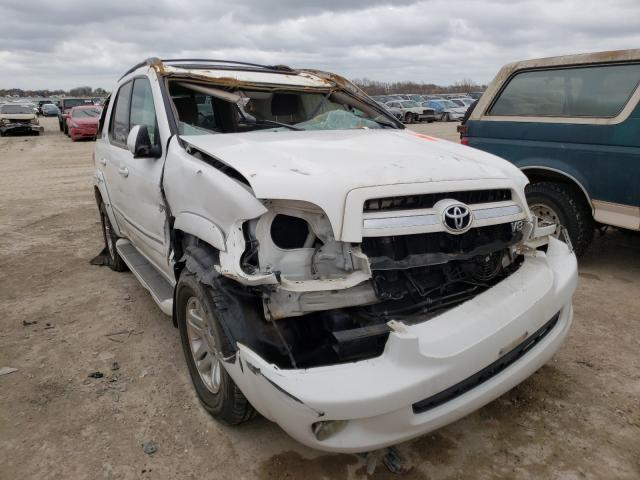 Salvage cars for sale from Copart Temple, TX: 2005 Toyota Sequoia SR