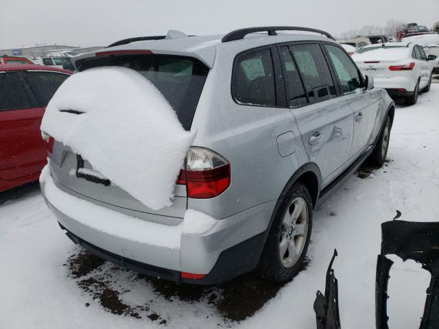 2007 BMW X3 3.0SI - Right Rear View