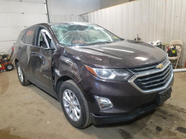 Salvage cars for sale from Copart Lyman, ME: 2020 Chevrolet Equinox LT