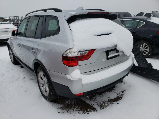 2007 BMW X3 3.0SI - Right Front View