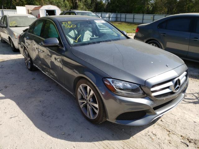 Salvage cars for sale from Copart Ocala, FL: 2018 Mercedes-Benz C300