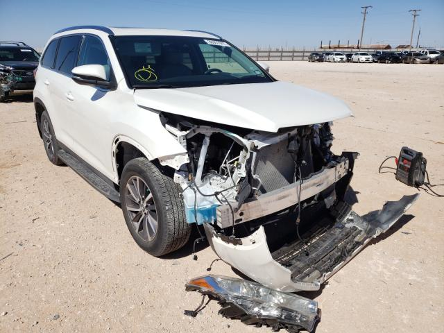 Salvage cars for sale from Copart Andrews, TX: 2019 Toyota Highlander