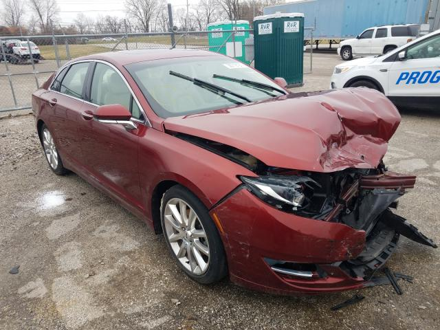 Salvage cars for sale from Copart Bridgeton, MO: 2014 Lincoln MKZ