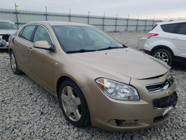 Salvage cars for sale from Copart Appleton, WI: 2008 Chevrolet Malibu 2LT
