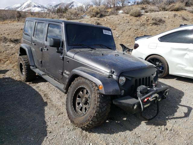 Salvage cars for sale from Copart Reno, NV: 2017 Jeep Wrangler U