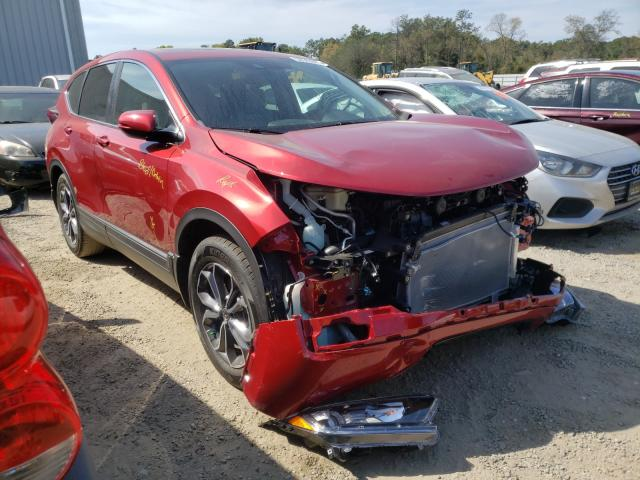 Salvage cars for sale from Copart Jacksonville, FL: 2020 Honda CR-V EX