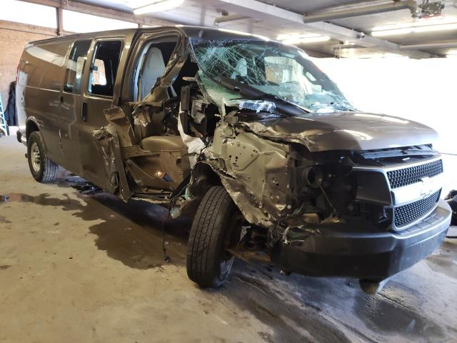 Salvage cars for sale from Copart Ebensburg, PA: 2016 Chevrolet Express G3