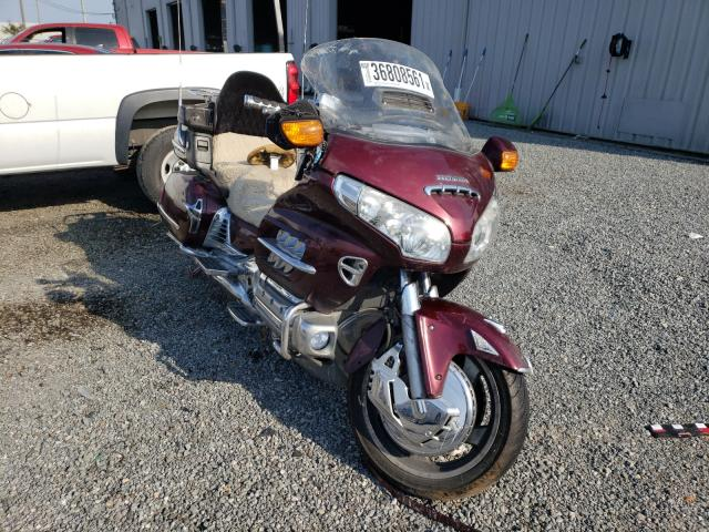 Salvage cars for sale from Copart Jacksonville, FL: 2008 Honda GL1800