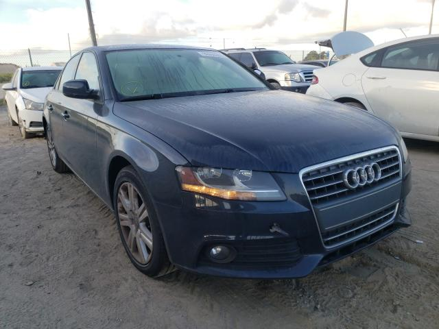Audi A4 salvage cars for sale: 2011 Audi A4