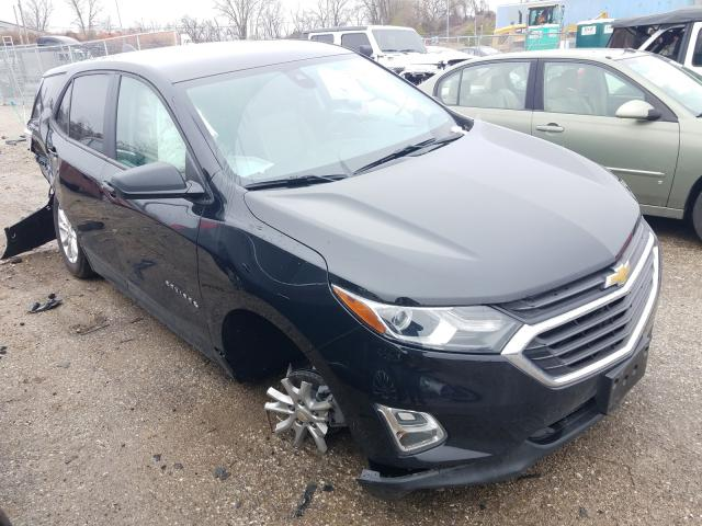 Salvage cars for sale from Copart Bridgeton, MO: 2020 Chevrolet Equinox LS