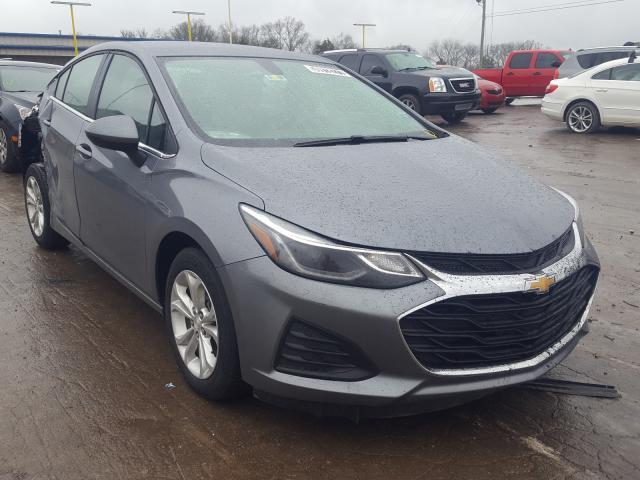 Salvage cars for sale from Copart Lebanon, TN: 2019 Chevrolet Cruze LT