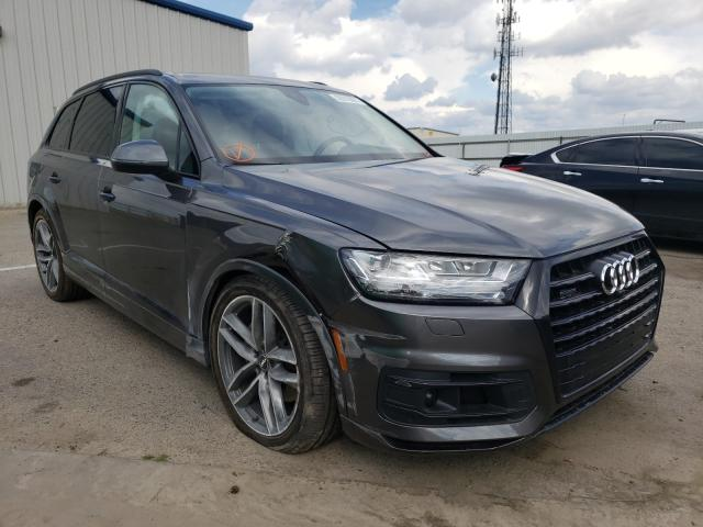 Audi salvage cars for sale: 2018 Audi Q7 Prestige