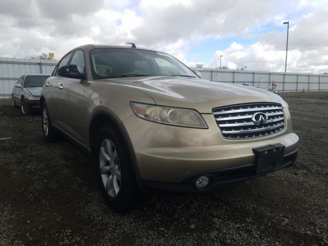 Infiniti FX35 salvage cars for sale: 2003 Infiniti FX35