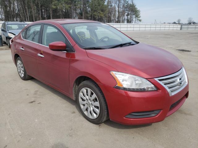 Vehiculos salvage en venta de Copart Dunn, NC: 2014 Nissan Sentra S