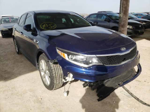Salvage cars for sale from Copart Temple, TX: 2016 KIA Optima LX
