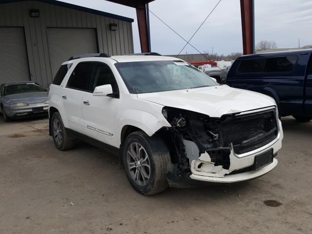 Salvage cars for sale from Copart Billings, MT: 2013 GMC Acadia SLT