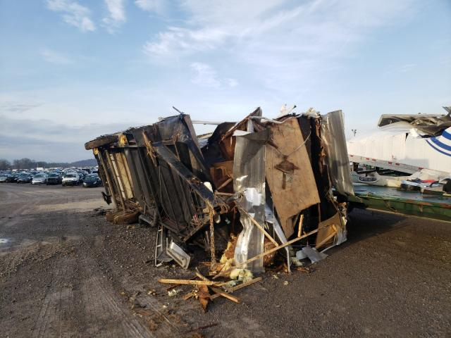 Salvage trucks for sale at Lebanon, TN auction: 2005 Fouw Trailer