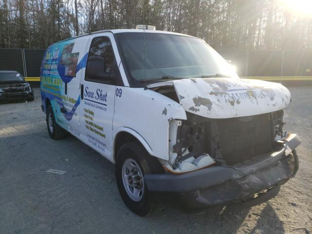 GMC Savana G35 salvage cars for sale: 2009 GMC Savana G35