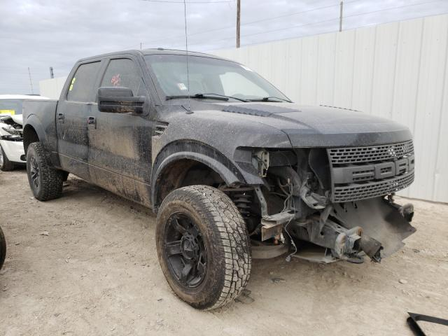 Salvage cars for sale from Copart Temple, TX: 2012 Ford F150 SVT R