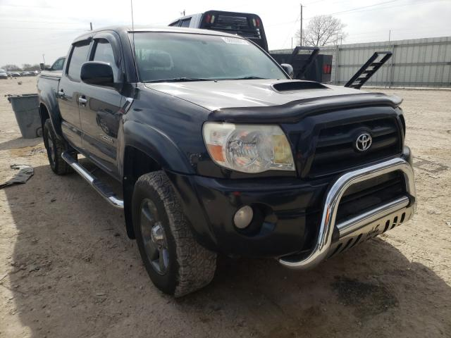 Salvage cars for sale from Copart Temple, TX: 2006 Toyota Tacoma DOU