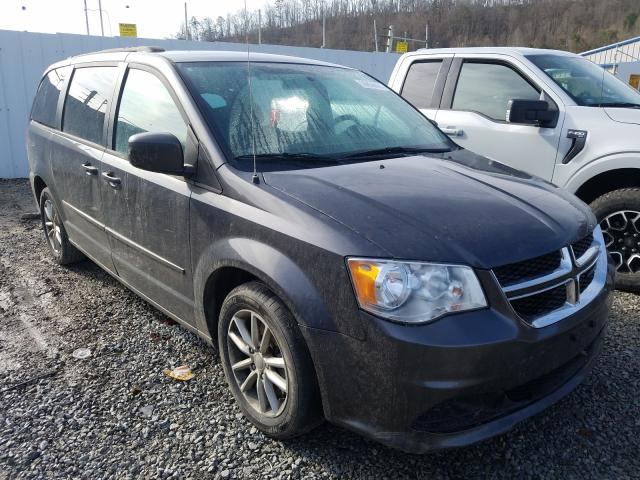 Salvage cars for sale from Copart Hurricane, WV: 2015 Dodge Grand Caravan