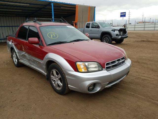 Subaru Vehiculos salvage en venta: 2003 Subaru Baja