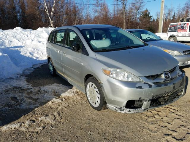 Salvage cars for sale from Copart Montreal Est, QC: 2007 Mazda 5