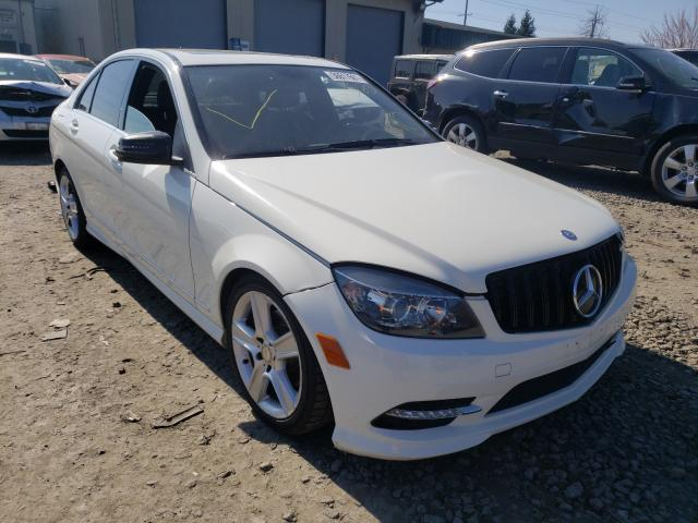 Salvage cars for sale from Copart Eugene, OR: 2011 Mercedes-Benz C 300 4matic