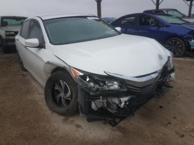Salvage cars for sale from Copart Temple, TX: 2016 Honda Accord LX