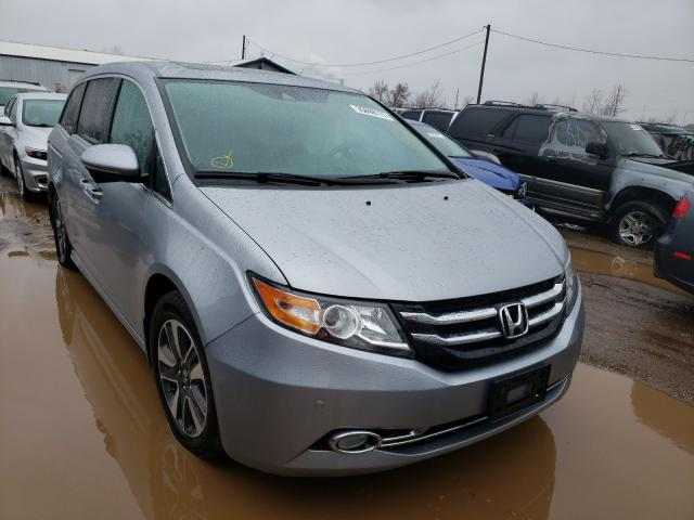 Salvage cars for sale from Copart Pekin, IL: 2016 Honda Odyssey TO