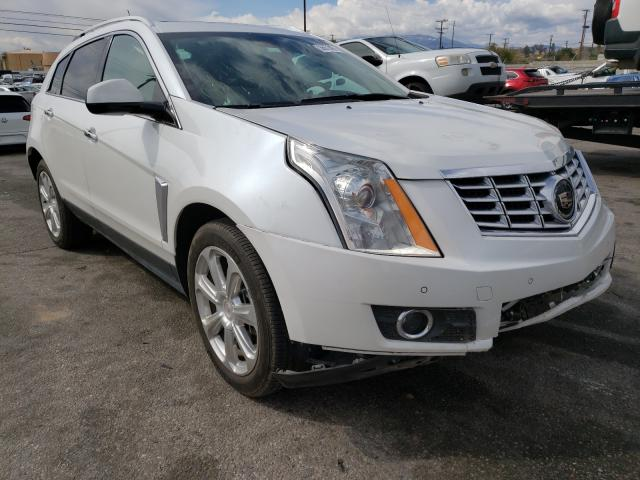 Salvage cars for sale from Copart Rancho Cucamonga, CA: 2015 Cadillac SRX Premium