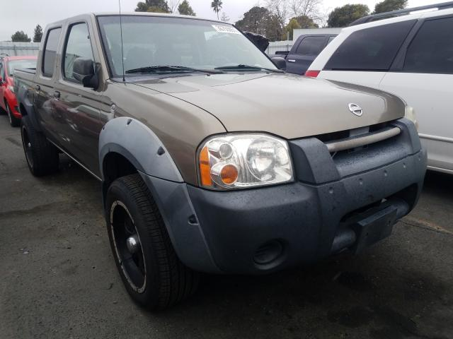Salvage cars for sale from Copart Vallejo, CA: 2002 Nissan Frontier C