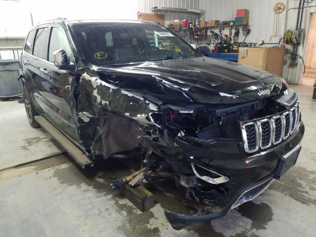 Salvage cars for sale from Copart Avon, MN: 2018 Jeep Grand Cherokee
