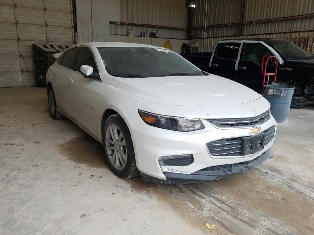 Salvage cars for sale from Copart Abilene, TX: 2017 Chevrolet Malibu LT