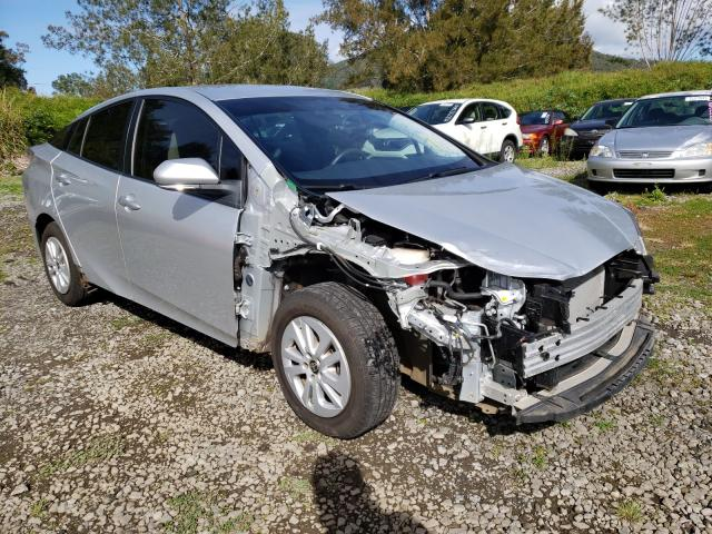Salvage cars for sale from Copart Kapolei, HI: 2016 Toyota Prius
