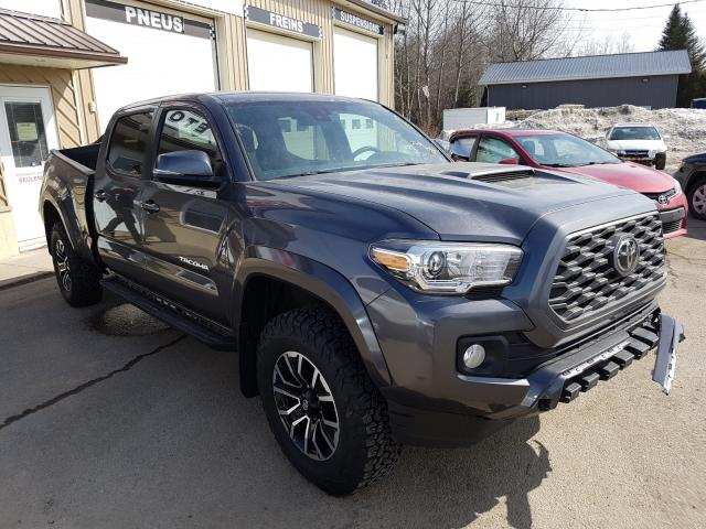 Salvage cars for sale from Copart Montreal Est, QC: 2020 Toyota Tacoma DOU