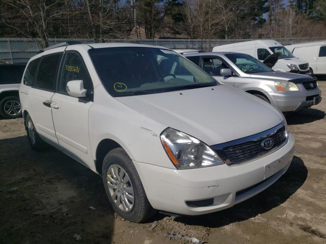 Salvage cars for sale from Copart Mendon, MA: 2012 KIA Sedona LX