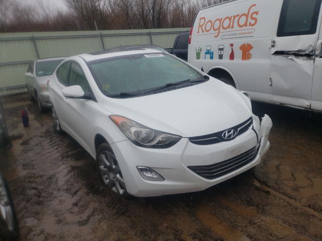 Vehiculos salvage en venta de Copart Pekin, IL: 2013 Hyundai Elantra GL
