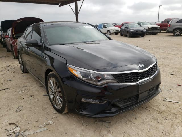 Salvage cars for sale from Copart Temple, TX: 2019 KIA Optima SXL