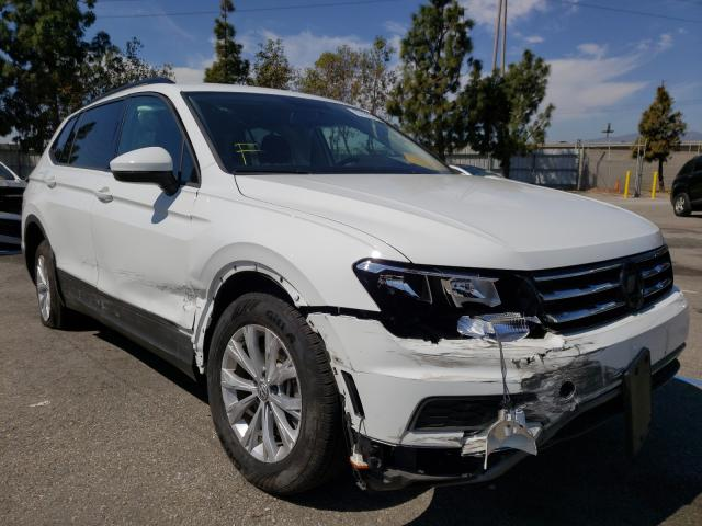 Salvage cars for sale from Copart Rancho Cucamonga, CA: 2019 Volkswagen Tiguan S